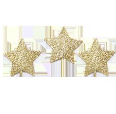 estrellas doradas web